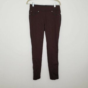 Nygard Slims Brown Stretch Jegging Pant M